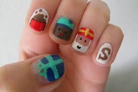 Sinterklaas nagels 2