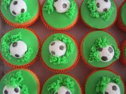 cupcake voetbal