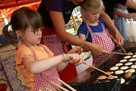kids event poffertjes