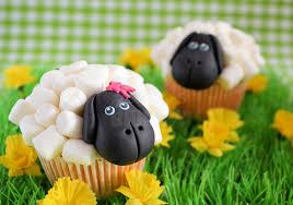 schaapjes cupcake